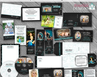 Chalk It Up Marketing Template COLLECTION- custom branding templates for photographers- 14 must-have templates