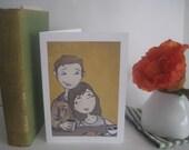 Romantic Sweetheart Greeting Card