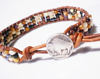 Buffalo Nickle Friendship Bracelet
