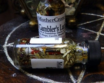 Gambler Oil Wicca Pagan Spirituality Religion Ceremonies Hoodoo Metaphysical MaidenMotherCrone