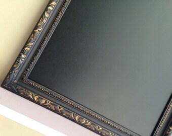 Black Framed CHALKBOARD for sale Wedding Decoration Wedding Sign Gold Wedding Menu Magnetic Chalkboard Kitchen Chalkboard - MORE COLORS