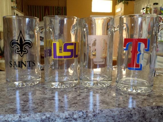 RESERVED ,1 Texas Rangers Sports Team Beer Mug