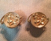 SALE NOW 50% OFF 60s Cuff Links by Swank - Soldiers in Battle