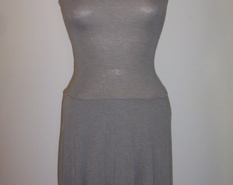 Juniors Size 5-7 Strapless Gray Mini Dress Size Small _ Think Back to School