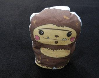 Poly Pellets Bean Bag Big Foot Sasquatch Doll Toy