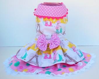 Poodle Harness-Dress.