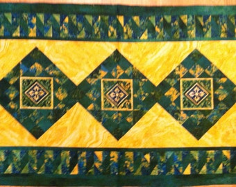 A Gorgeous Stonehenge Fabric Panel by Sunshine Cottage For Northcott Fabrics Free US Shipping