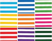 Oilcloth By The Yard Stripes Your Choice of Color by the Yard