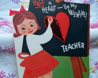 half a heart teacher valentine