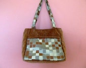 Beth1408 Knitting Bag, Self Standing Upholstery Fabric, Project Bag, Tote, Needle Art