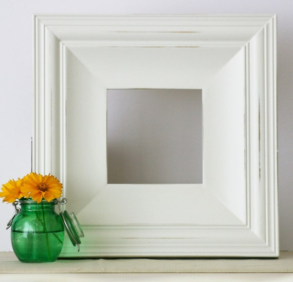Sizes 4x4 to 8x8 wood picture frame cottage style for Bungalow style picture frames