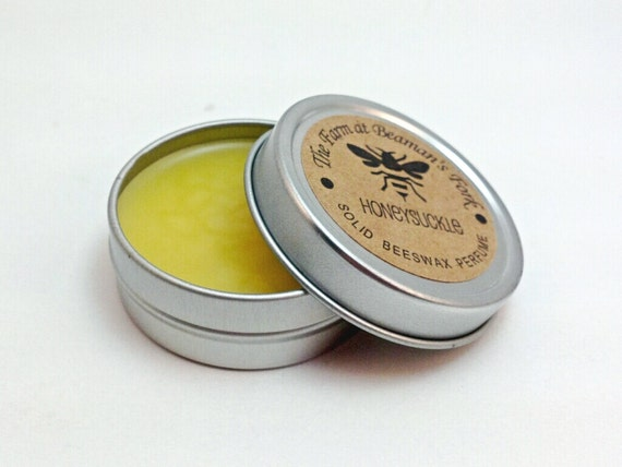 SOLID PERFUME - You Choose Scent - Old Fashioned Solid Beeswax Perfumes