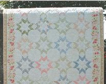 Quilt Pattern - Blooming Stars II