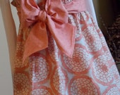 Buy Any 2 Skirts and Get 1 FREE, Apricot Dahlia Paper Bag Skirt, Size 6