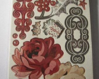 Christmas Chipboard Stickers by BasicGrey