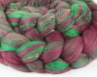 CROTON Merino/Silk/Soffsilk roving - 2.6 oz