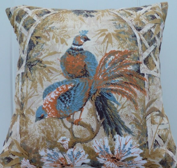 Bird Pattern Throw Pillows : Unavailable Listing on Etsy