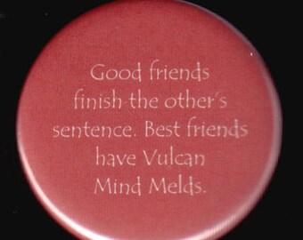 Vulcan Friends Button