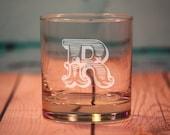 11 Custom Etched Old Fashioned Glasses - Rocks Glasses