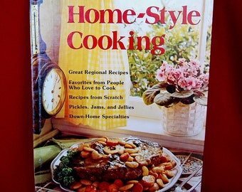 Vintage Better Homes & Gardens Home Style Cooking circa 1975 First Edition First Printing 96 pages  CB266