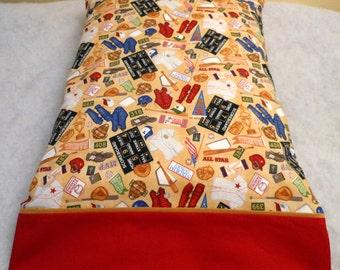 Pillowcase Baseball Standard Size