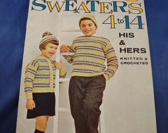 Baby Knit and Crochet Pattern Booklet No. 180 American Thread Co.