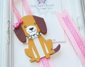 Dog Puppy Bow Holder. Dog Lover Headband Holder. Free Ship Promo