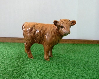 Beswick Highland Calf model 1827