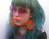Unhappy Flower Power Earrings
