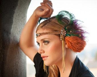 Temple Dancer, Headdress