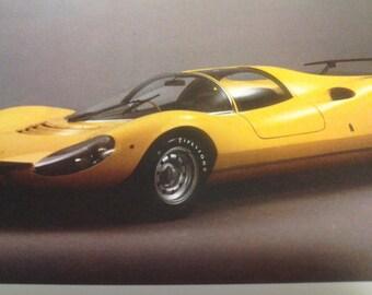 Vintage Classic Car Book Ferrari  Auto Sports Car
