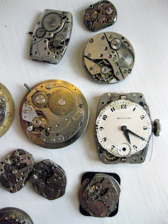 Assorted Steampunk Supplies