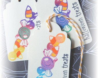 Halloween- I Want Candy- Halloween Treats- Candy Tags (6)