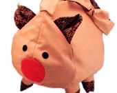 Pig Purse Easy To Sew Doll Pattern Carolee Creations