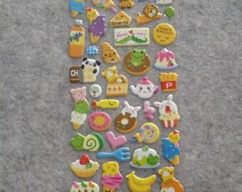 Mixed Cutie Desserts Stickers