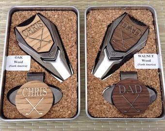 Custom Groomsmen Gift -Personalized Golf Ball Marker, Groomsmen Gift, Best Man Gift,Groom Gift,Golf Divot Tool, Golf Gift Set, Wedding Favor