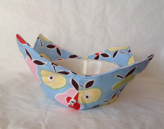 Apples & Pears- Microwavable bowl potholder