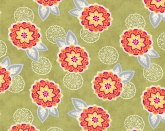 High Street - Colette in Sage by Lily Ashbury for Moda Fabrics