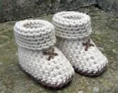 Crochet pattern for Baby Booties, slipper socks - 5 sizes, 3 styles. - INSTANT DOWNLOAD .pdf