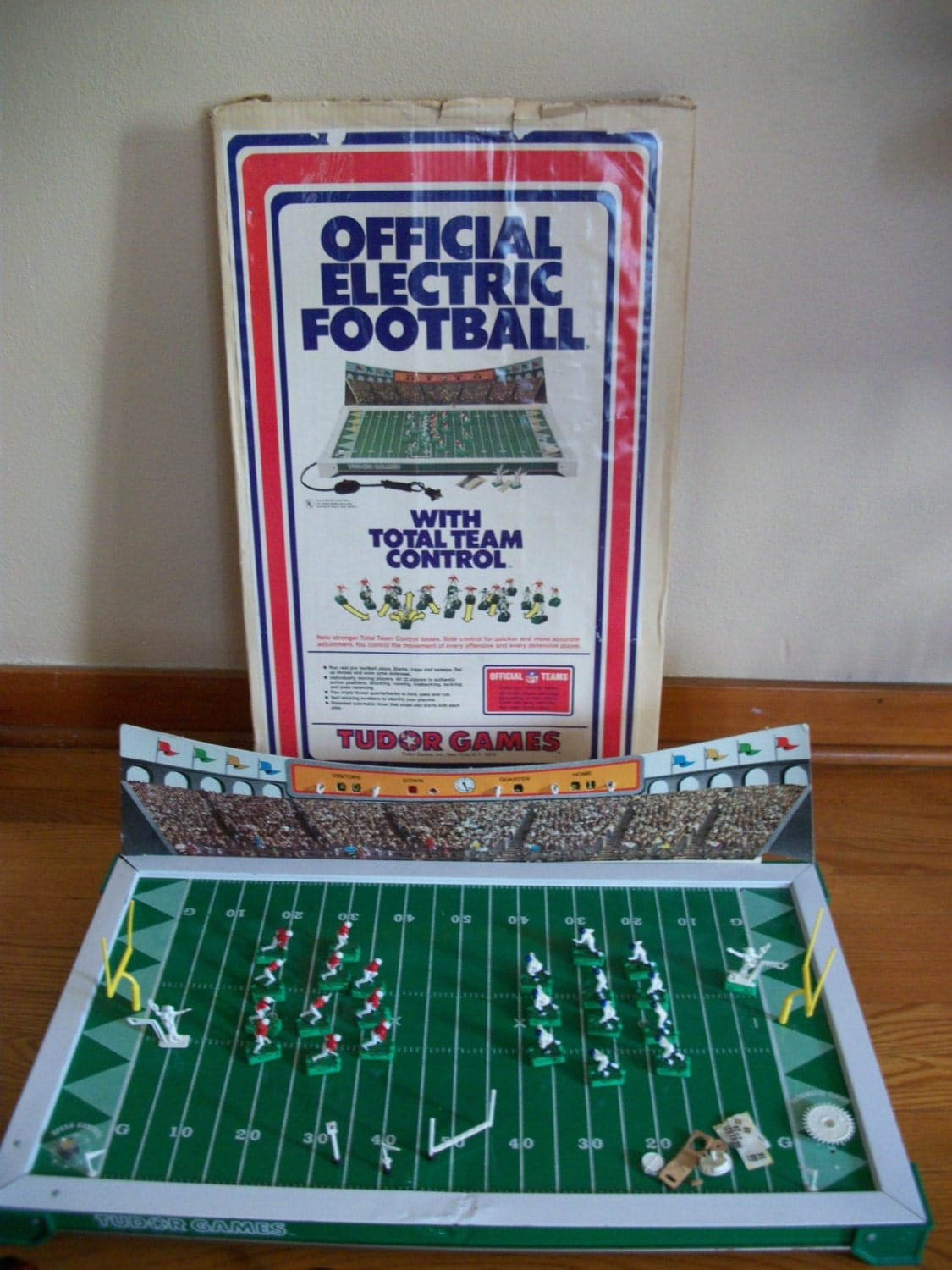 Vintage electric football game