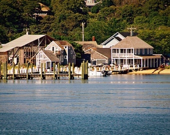 MARTHA'S VINEYARD Photography, Vineyard Haven, Pick Your Size Print, Massachusetts Photo, New England Art, Travel, Coastal,