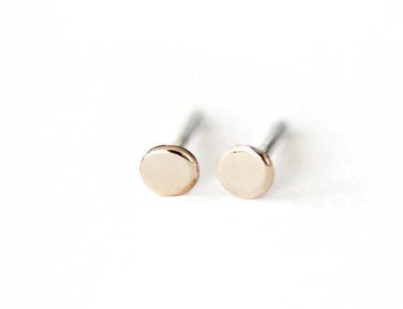 Mini Back to Basics Circlesin Bronze