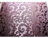 Dark Purple Wine Ivy Garden Curtain Fabric Upholstery Fabric Drapery Fabric Window Treatment Fabric