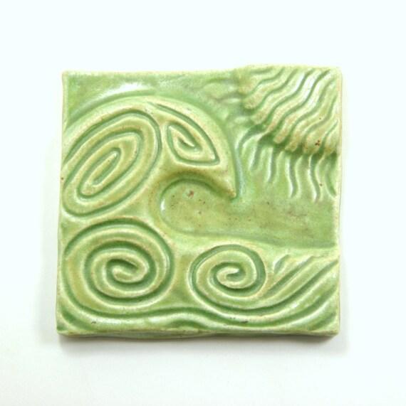 4x4 Tile Ocean Wave