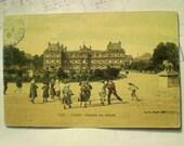 Paris - 1910 - Palais du Senat - Antique French Postcard