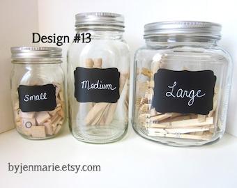 DesignNo.13  Chalkboard Labels