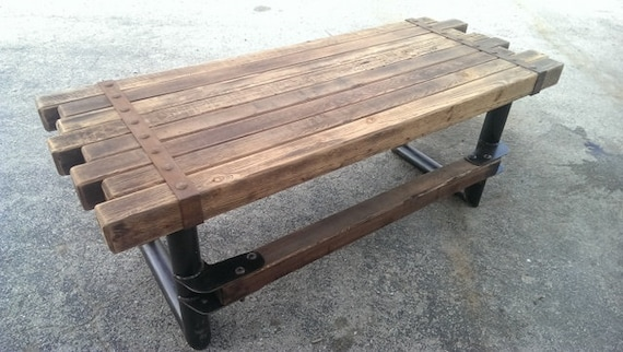 Industrial Rustic Furniture cedar & steel rustic industrial desk 039 industrial style