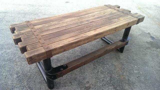Cedar amp Steel Rustic Industrial Desk 039 Style