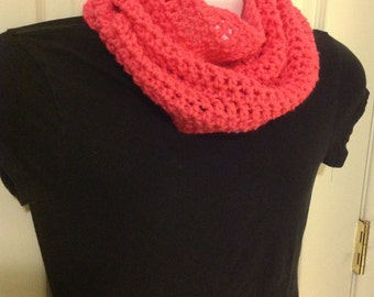 Scarf bright pink hot pink