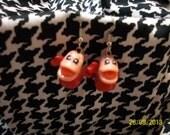 Squinkies Earrings - The Little Mermaid - Sebastian